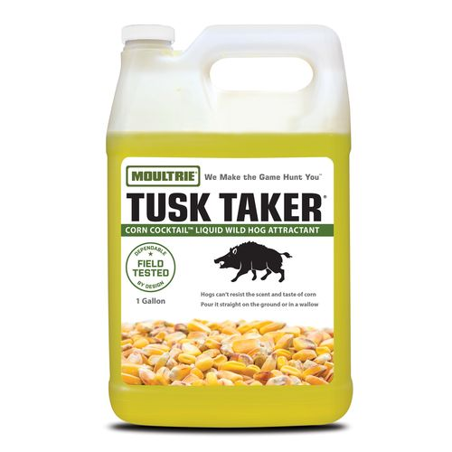 Moultrie Tusk Taker® Corn Cocktail 1-Gallon Liquid Wild Hog Attractant