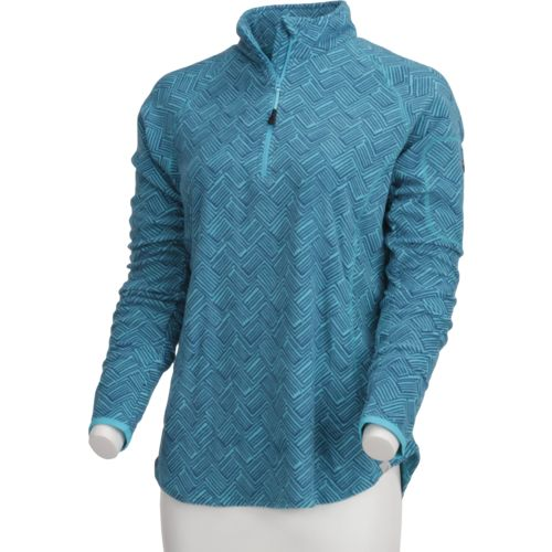 BCG™ Women's Allover Print Microfleece 1/4 Zip Pullover