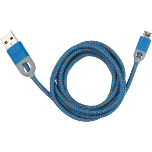 iHome 5' Double-Injected Nylon Lightning® Charge and Sync Cable
