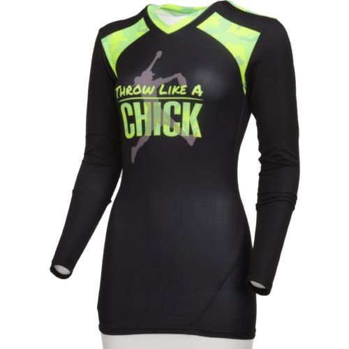 Boombah Women's Long Sleeve Compression Shirt