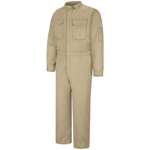 Bulwark Men's Flame Resistant Deluxe CoolTouch 2 7 oz. Coverall