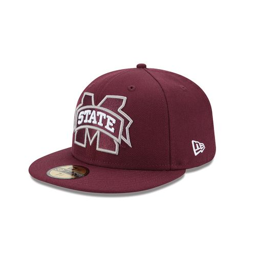 New Era Men's Mississippi State University 59FIFTY Cap