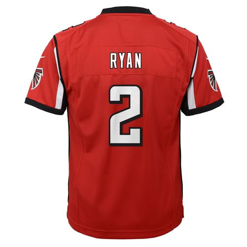 Nike Youth Atlanta Falcons #2 Matt Ryan 2016 Super Bowl LI Game Jersey