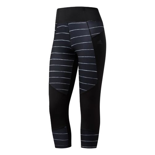adidas Women's Performer High Rise Oxidized Stripe 3/4 Tight
