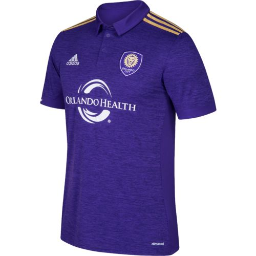 adidas Men's Orlando City SC Short Sleeve Replica Jersey
