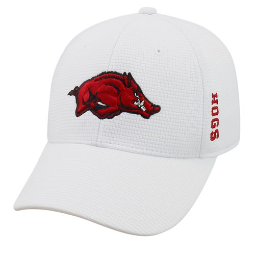 Top of the World Men's University of Arkansas Booster Plus Flex Cap