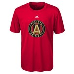 adidas Boys' Atlanta United FC climalite Primary Logo T-shirt - view number 1