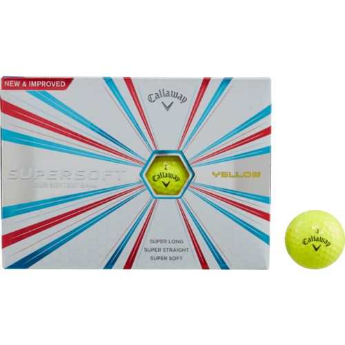 Display product reviews for Callaway Supersoft 2017 Golf Balls