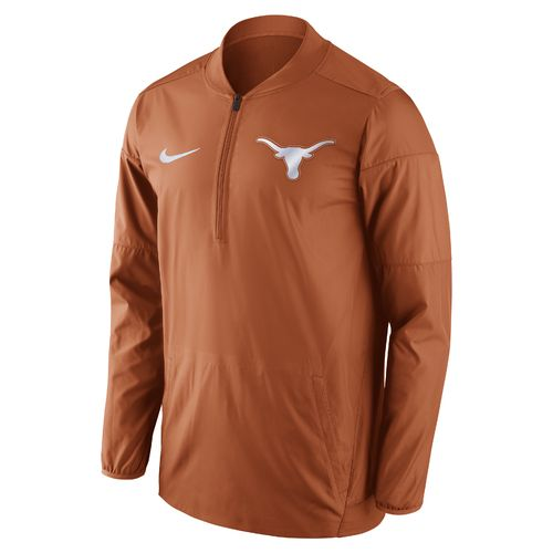 Nike™ Men's University of Texas Lockdown 1/2 Zip Jacket