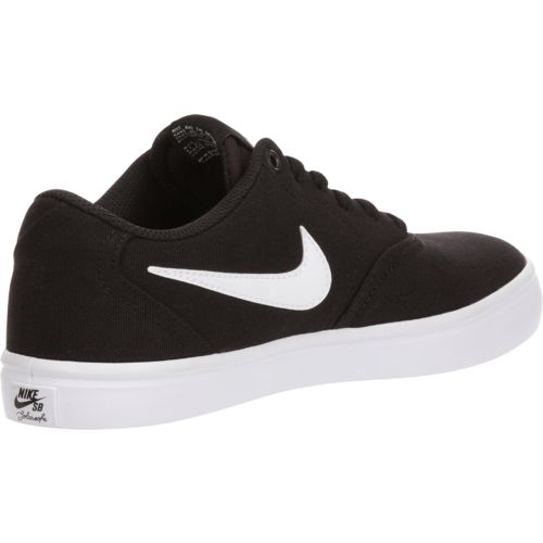 Nike Women's Check Solarsoft Canvas Skateboarding Shoes - view number 3