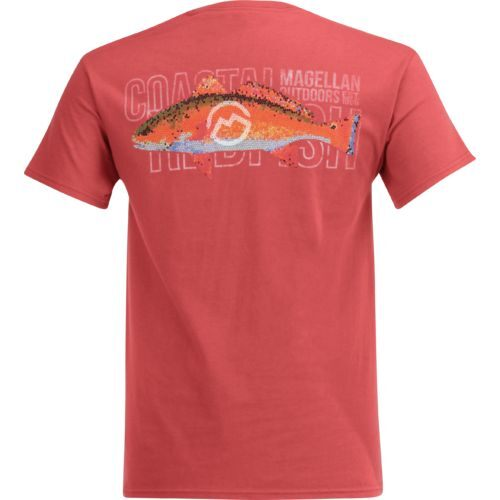 Magellan Outdoors Men's Mosaic Redfish Pocket T-shirt - view number 1