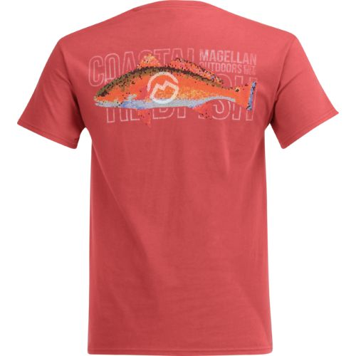 Magellan Outdoors Men's Mosaic Redfish Pocket T-shirt