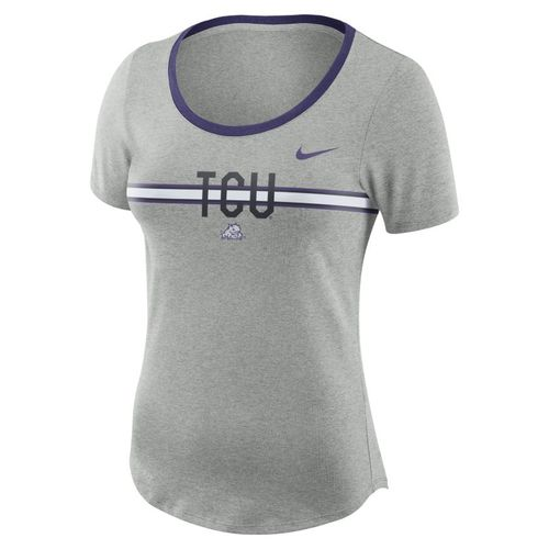 Nike™ Women's Texas Christian University Dry Strike Slub T-shirt