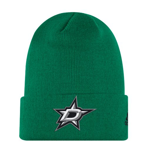 adidas Men's Dallas Stars Basic Logo Cuffed Knit Cap