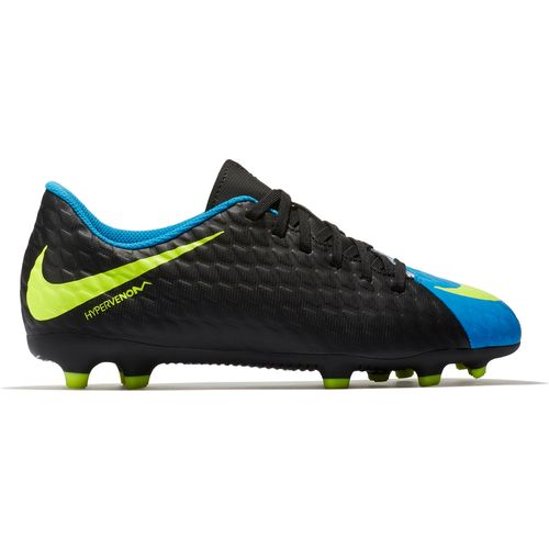 Nike Boys' Hypervenom Phade III Firm Ground Soccer Cleats