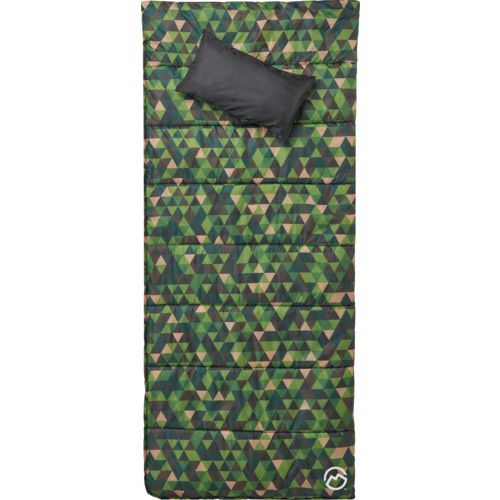 Magellan Outdoors Kids' 45 Degree F Reversible Sleeping Bag with Pillow - view number 5