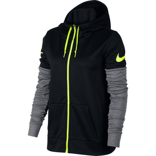 Nike Women's Therma Just Do It Full Zip Training Hoodie