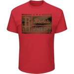 Majestic Men's Houston Rockets Build a Team Space T-shirt - view number 1