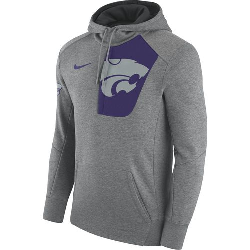 Nike Men's Kansas State University Fly Fleece Pullover Hoodie