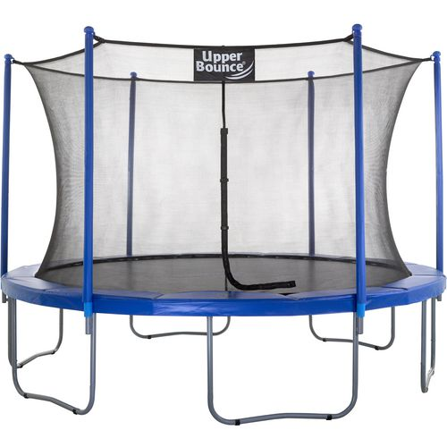 Upper Bounce 12 ft Round Trampoline with Enclosure