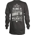 Three Squared Juniors' Kansas State University Tower Long Sleeve T-shirt - view number 1