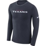Nike™ Men's Houston Texans Marled Word Long Sleeve T-shirt - view number 1