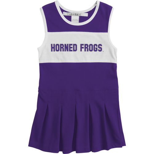 Chicka-d Girls' Texas Christian University Cheerleader Dress