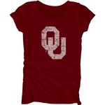 Blue 84 Juniors' University of Oklahoma Mascot Soft T-shirt - view number 1
