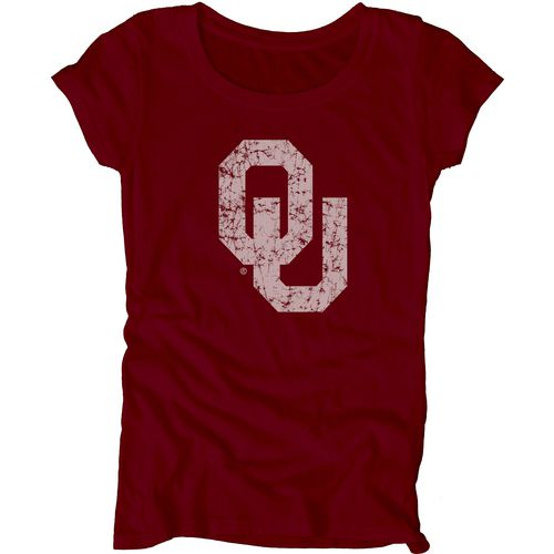 Blue 84 Juniors' University of Oklahoma Mascot Soft T-shirt