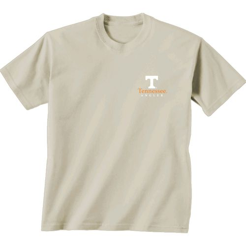 New World Graphics Men's University of Tennessee Angler Topo Short Sleeve T-shirt - view number 2