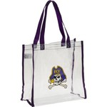 Forever Collectibles East Carolina University Clear Reusable Bag - view number 1