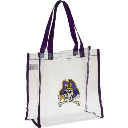 Forever Collectibles East Carolina University Clear Reusable Bag