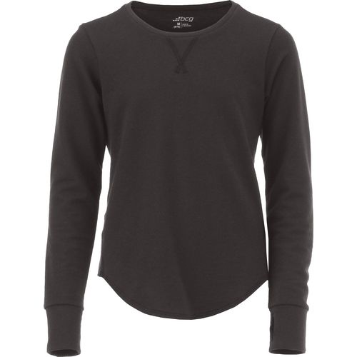 BCG Girls' Lifestyle Long Sleeve Pullover