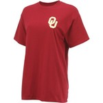 New World Graphics Women's University of Oklahoma Logo Aztec T-shirt - view number 3