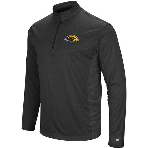 Colosseum Athletics Men's University of Southern Mississippi Audible 1/4 Zip Windshirt