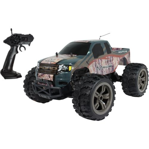 realtree 1 10 scale ford f 150 svt raptor rc truck academy. Black Bedroom Furniture Sets. Home Design Ideas