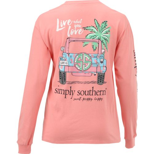 Simply Southern Women's Long Sleeve Live T-shirt