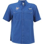 Columbia Sportswear Men's McNeese State University Low Drag Offshore Short Sleeve Shirt - view number 1