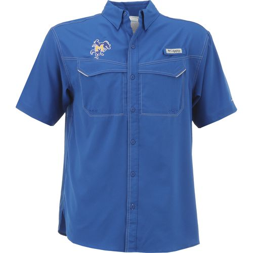 Columbia Sportswear Men's McNeese State University Low Drag Offshore Short Sleeve Shirt