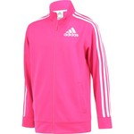 adidas Girls' Tricot Event Athletic Jacket - view number 3