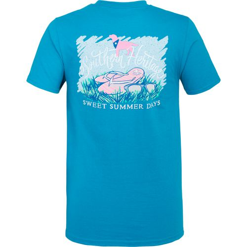 Southern Heritage Men's Flip Flop Graphic Short Sleeve T-shirt