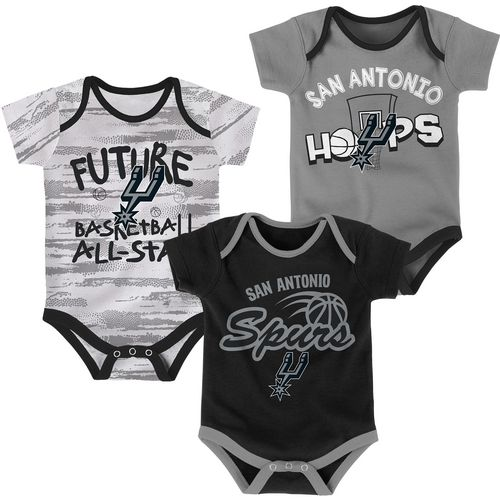 NBA Infants' San Antonio Spurs 3-Piece Body Suit Set