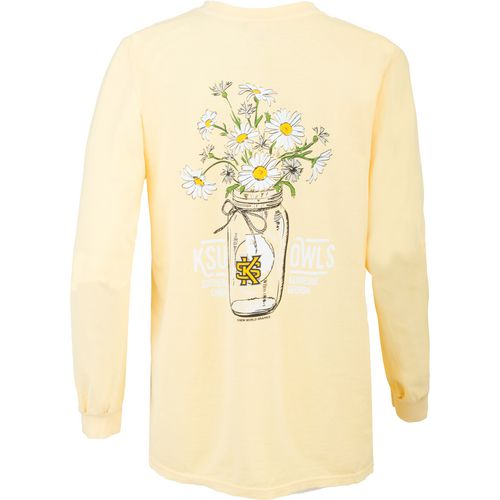 New World Graphics Women's Kennesaw State University Bouquet Long Sleeve T-shirt