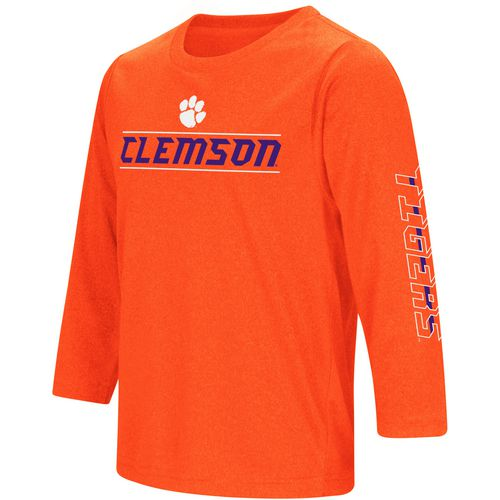Colosseum Athletics Boys' Clemson University BF Long Sleeve T-shirt