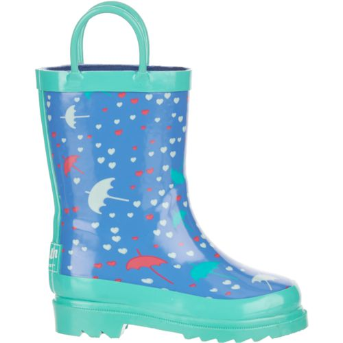 Austin Trading Co. Toddler Girls' Rubber Umbrella Boots