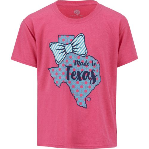 Raw State Girls' Made in Texas T-shirt