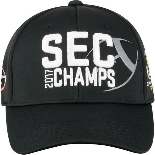 Top of the World Men's University of Georgia SEC Champions 2017 Curved Bill Cap
