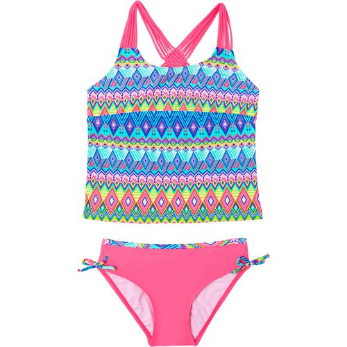 O'Rageous Girls' Deco Line 2-Piece Tankini