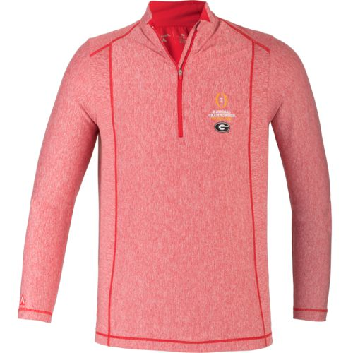 Antigua Men's University of Georgia College Football Playoff Tempo Pullover