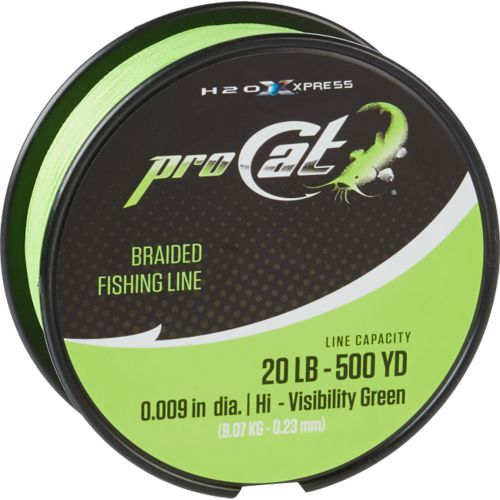 Display product reviews for Pro Cat 500 yards Braided Fishing Line